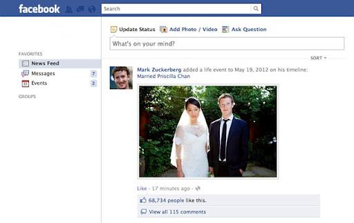 """Mark Zuckerberg Update: Mark Zuckerberg Ganti Status """"Menikah"""""""